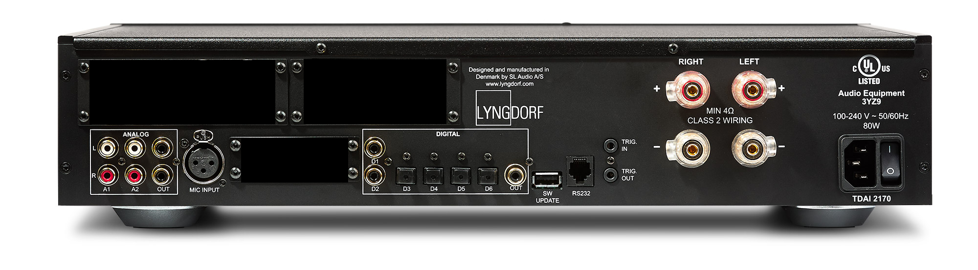 LYNGDORF TDAI-2170 Basic