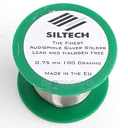Siltech Audiophile Silver Solder - metráž